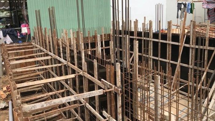 Trong ngành xây dựng, ván ép thường được sử dụng làm cốp pha