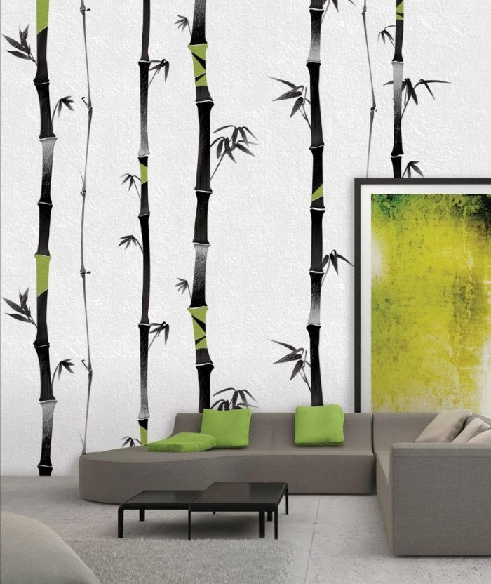 8 mẫu giấy dán tường phòng khách