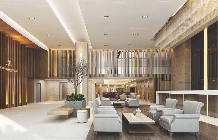 8 mẫu phòng lễ tân khách sạn đẹp