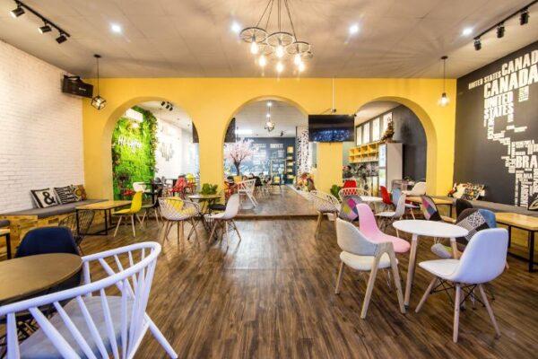 8 mẫu quán cà phê