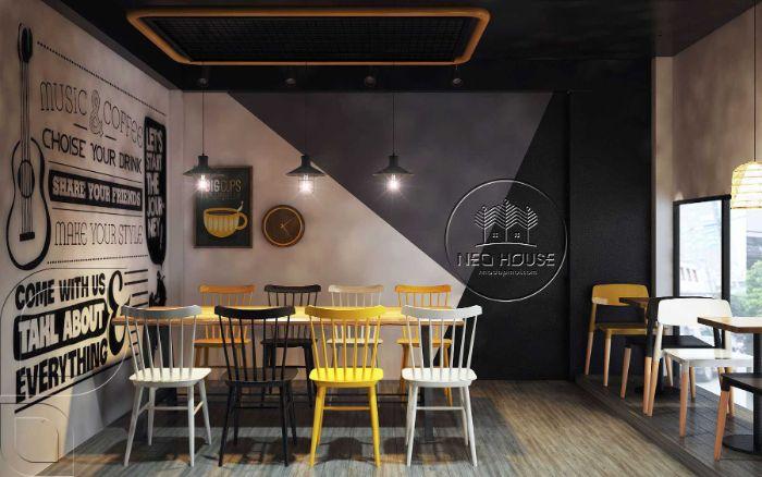 8 mẫu thiết kế quán trà sữa nhỏ