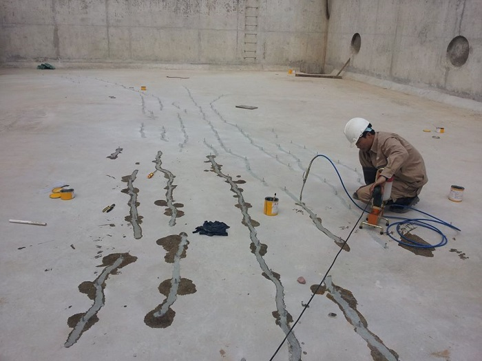 Cách xử lý sàn bê tông bị nứt hiệu quả