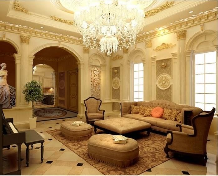 Mẫu phào chỉ đồng điệu cùng tường và trần nhà