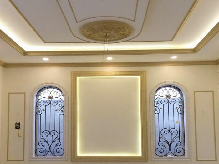 Phào chỉ trần nhà khối tròn nhẹ nhàng