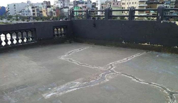 Sàn nhà bị nứt nếu không xử lý sẽ ảnh hưởng tới chất lượng công trình