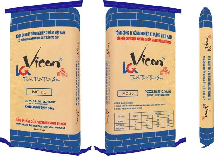 Xi măng Vicem được dùng phổ biến trong xây dựng