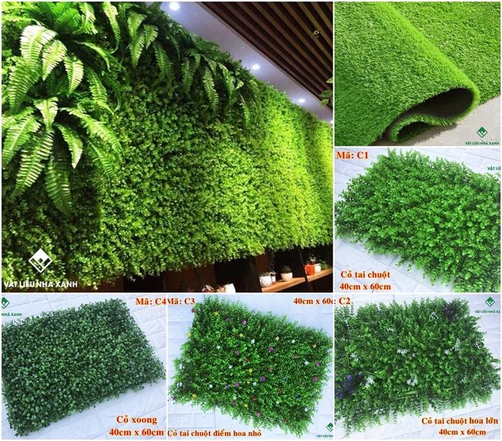 giá thảm cỏ nhân tạo